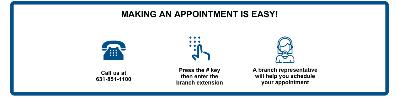 appointment instructions